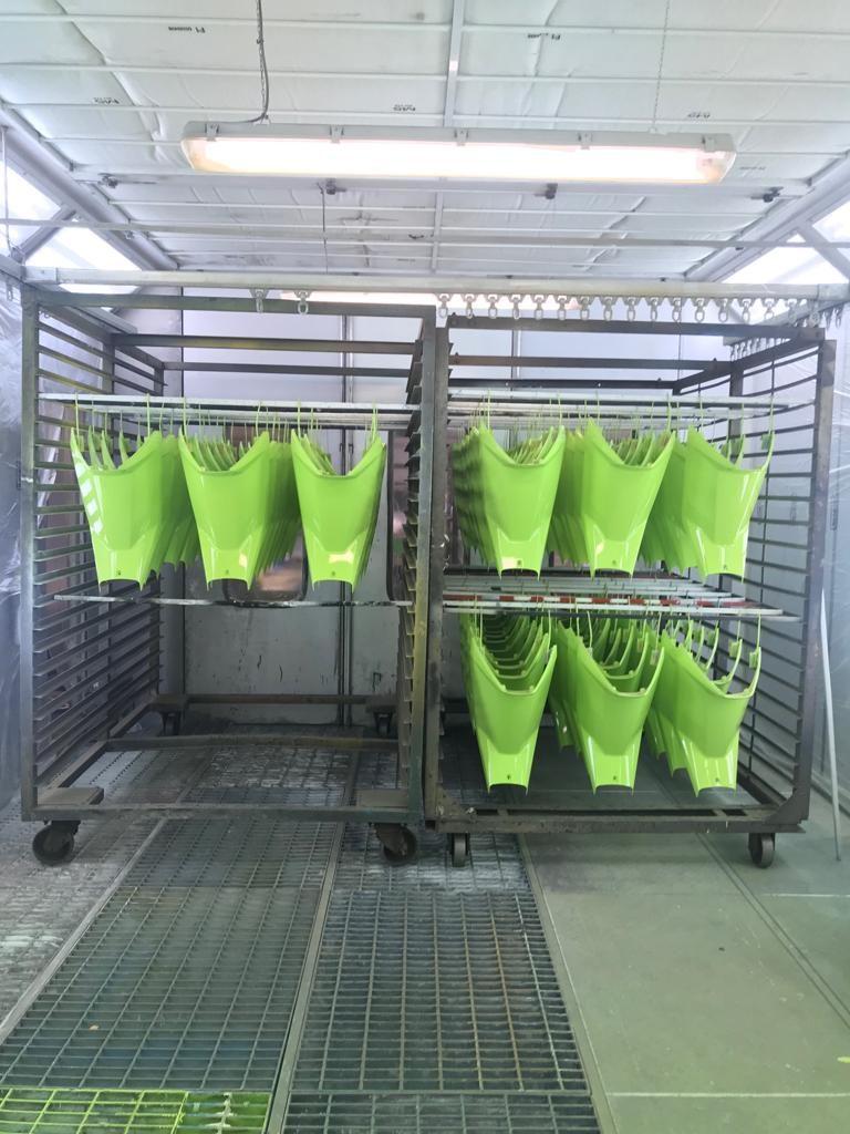 aplicacion pintura industrial al agua
